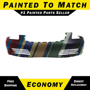 New Painted To Match Front Bumper Cover Replacement For 2006 2011 Buick Lucerne