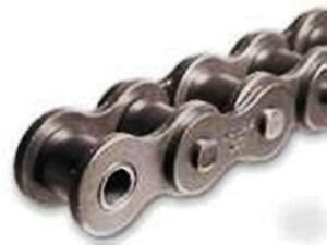 100 1r X 10ft Riveted Roller Chain With 1 Connecting Link 100 1 1 4 Pitch