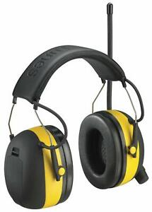 3m Tekk Protection Worktunes Ear Muff Headset Mp3 Ipod Compatible Am fm Radio