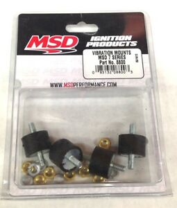 Msd 8800 7 Series Vibration Mounts Genuine Msd Ignition Mounts New