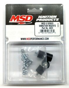 Msd 8823 6 Series Vibration Mounts Genuine Msd Ignition Mounts New