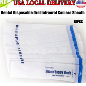 400 Dental Disposable Oral Intraoral Camera Protective Sheath Sleeve Cover Usa