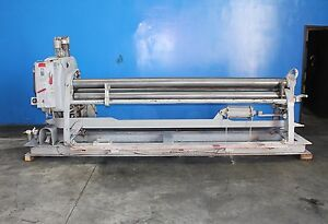 Lown Power Roll Sheet Metal Bender Roller 12 Ga X 10 Initial Pinch