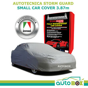 Autotecnica Small 3 87m Car Cover Sedan Stormguard Waterproof Fleece W Bag