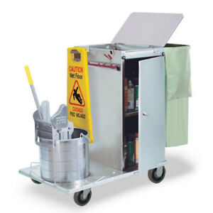 Royce Rolls c30 04e Stainless Steel Mini size Non folding Housekeeping Cart