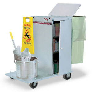 Royce Rolls c36 04e Stainless Steel Std size Non folding Housekeeping Cart