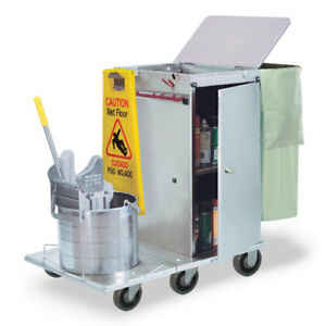 Royce Rolls f30 04e Stainless Steel Mini size Folding Housekeeping Cart