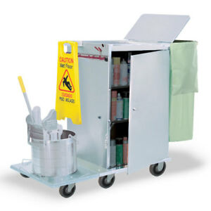 Royce Rolls f2436 04e Stainless Steel Wide size Folding Housekeeping Cart