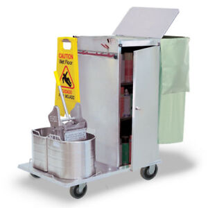 Royce Rolls c36 08e Stainless Steel Std size Non folding Housekeeping Cart