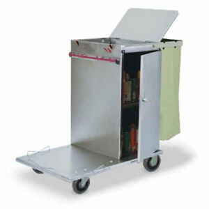 Royce Rolls c30 Stainless Steel Mini Non folding Housekeeping Cart