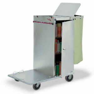 Royce Rolls c36 Stainless Steel Std Non folding Housekeeping Cart