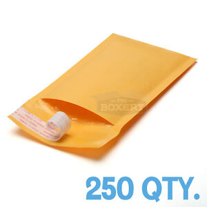250 000 Kraft Bubble Padded Envelopes Mailers 4 X 8 From Theboxery