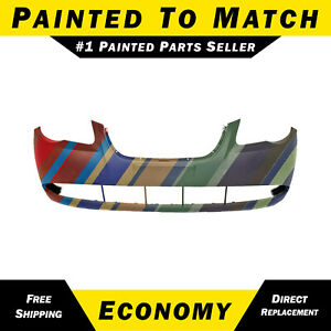 New Painted To Match Front Bumper For 2007 2010 Hyundai Elantra 4dr Sedan 07 10