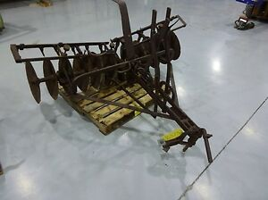 Antique Farming Tractor Disk Harrow
