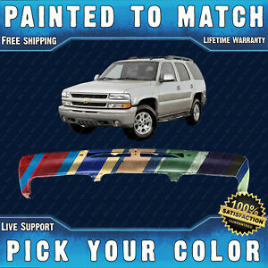 New Painted To Match Front Bumper For 2000 2006 Chevy Silverado Tahoe Suburban