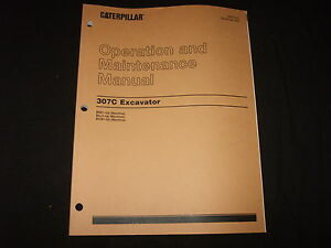 Cat Caterpillar 307c Excavator Operation Maintenance Manual