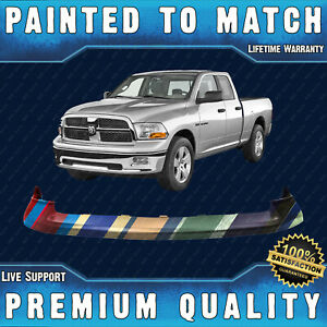 Painted To Match Front Bumper Top Cover Pad For 2009 2012 Dodge Ram 1500 Pickup