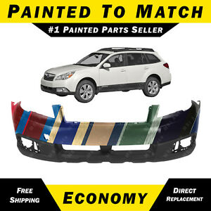 New Painted To Match Front Bumper Cover For 2010 2011 2012 Subaru Outback Wagon