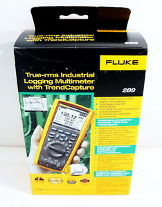 Fluke 289 True Rms Industrial Data Logging Digital W Trendcapture Multimeter New