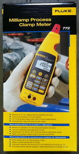 Fluke 772 Milliamp Process Clamp Meter Brand New