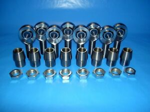 4 Link Kit 3 4 X 5 8 Bore Chromoly Rod End Heim Joint 1 3 8 X 120 750
