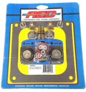 Aed 4500a Holley 4500 Dominator Alcohol Rebuild Kit 750 1050 1150 1250 Carbs