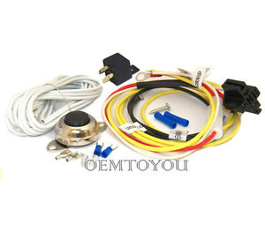 Car Horn Installation Kit W Button Relay For Dixie Compact Ooga Snail Disc Air
