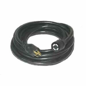 Century Wire Cable 30 amp 4 prong 25 foot Generator Power Cord