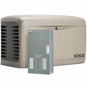 Kohler 14kw Composite Standby Generator System 100a Indoor 16 circuit Switch