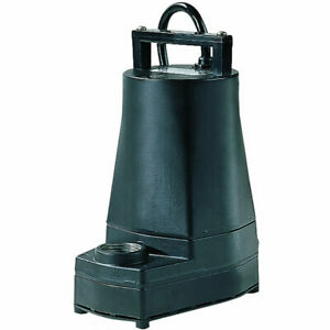 Little Giant 5 mspr 20 Gpm 1 Aluminum Submersible Utility Pump