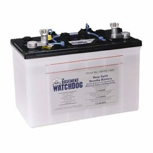 Basement Watchdog Backup Sump Pump Battery