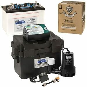 Basement Watchdog Special Backup Sump Pump 1850 Gph 10 Battery