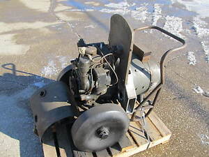 Portable Power 2 Cylinder Hercules Bxb Gasoline Engine Vintage Antique