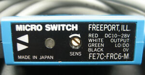 Micro Switch Fe7c frc6 m Miniature Fiber Optic Photoelectric Control
