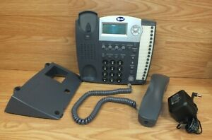 At t 945 4 line Wall desk Mount Corded Small Business System Speaker Telephone