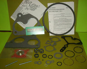 Rebuild Kit Gm Tbi Throttle Body 220 Buick Cadillac Chevy Oldsmobile Pontiac