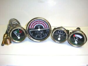 Gauge Tachometer Set For Ih International B250 B275 B414 276 354 434 444