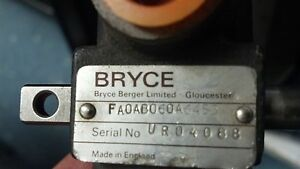 Bryce Fuel Injection Pump