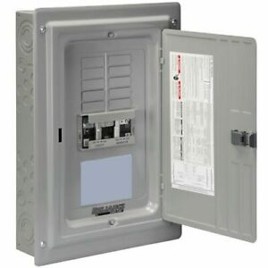 Reliance Controls 60 amp Utility 30 amp gfi Gen Indoor Transfer Panel