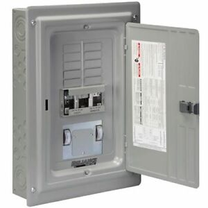 Reliance Controls 60 amp Utility 60 amp gfi Gen Outdoor Transfer Panel W M