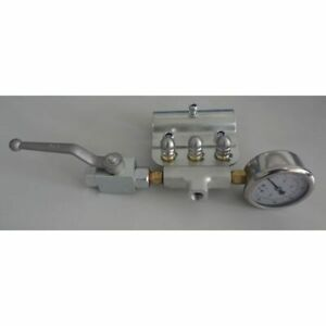 General Pump Sewer Jetting Kit W Ball Valve Gauge Three 3 0 Stainless St