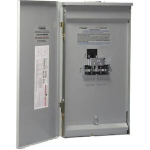 Reliance Controls 150 amp Utility 50 amp Generator Outdoor Manual Transfer Panel