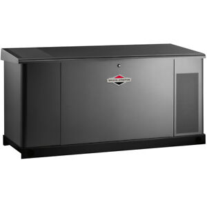Briggs Stratton 76180 25 Kw Liquid Cooled Standby Generator steel 120