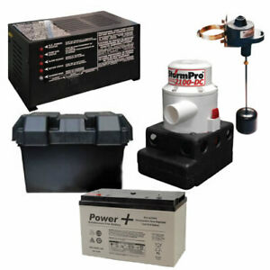 Ion Battery Backup Sump Pump System 2100 Gph 10 Battery mi20106 P20