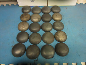 Pipe Caps Steel Domed Weld On Size 4 Inch Outside Diameter Lot Of 20