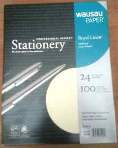 Royal Linen Ivory Stationery Resume Paper 8 5 X 11 24 100 Sheet Package