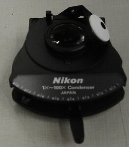 Nikon Cc Swing out Achromatic Condenser 1x 100x new