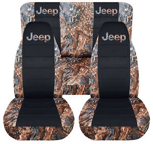 1997 2002 Jeep Wrangler Tj Reeds Camo Blck Front Rear Seat Covers Reeds Jeep