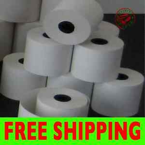 Verifone Omni 3200 2 1 4 X 85 Thermal Paper 300 Rolls free Shipping