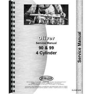 Oliver 90 Tractor Service Manual